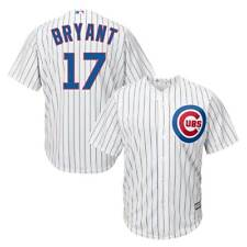 Majestic Kris BRYANT #17 Chicago Cubs COOL BASE MLB Maglia per partite in casa