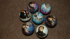DISNEY FROZEN SMALL BOUNCY BALL FUN JUGGLING CATCH - OFFER IS PER SINGLE BALL