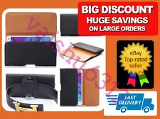 ★ For Celkon Q567 ★ PU Leather Magnetic Flip Belt Hip Pouch Case ★