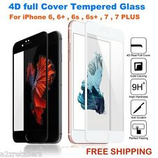 For ALL Apple iPhone 4D CURVED FULL SCREEN COVER Tempered Glass Screen Protector