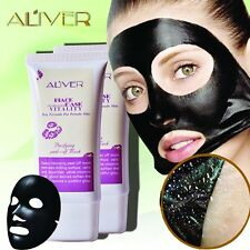 Aliver Natural Activated Charcoal Purifying Blackhead Acne Remover Peel-Off