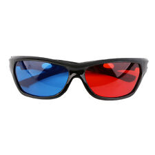 Black Frame Universal 3D Plastic Glasses/Oculos/Red Blue Cyan 3D Glass Anaglyph1