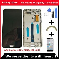 Aaa Quality Original Lcd +Original Frame For Meizu M2 Note Lcd Display Screen Re
