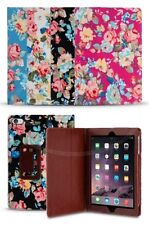 Apple iPad Mini 4 ( 4 Gen 2015) - Estampado Floral Patrón Diseño estilo libro