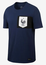 Crest Tee Francia France Loisirs T-shirt 2017 homme Blue coton