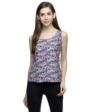 Oxolloxo Women Floral Printed Cami (S17342WBL001)