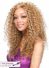 LACE PERUVIAN JERRY | HUMAN HAIR BLEND LONG CURLY LACE FRONT WIG |  IT'S A WIG