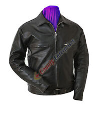 NEW Men Bomber A-2 Flight Air Force Aviator 100% GENUINE LEATHER Collared Jacket