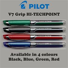 PILOT HI-TECH POINT PENS V7GRIP JAPANESE TECHNOLOGY 0.7mmNeedle Point Tip Smooth