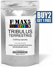 TRIBULUS TERRESTRIS 15 30 60 180 CAPSULES MAX LEGAL MUSCLE TESTOSTERONE BOOSTER