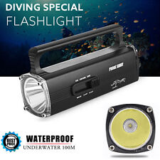 Impermeable 8000LM CREE XML2 T6 LED Submarinismo Buceo 100M Linterna