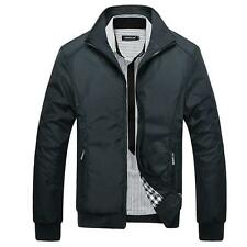 Jacket Men Overcoat Casual Bomber Jackets Mens Outwear Windbreaker Coat Jaqueta1