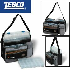 Zebco Uni Tackle Keeper 37x18x24cm Angeltasche + 3 Angelboxen, Tackletasche