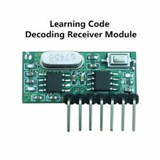 433Mhz Rf Receiver Learning Code Decoder Module 433 Mhz Wireless 4 Channel O 649