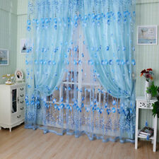 1PC 1M*2M Window Curtains Sheer Voile Tulle for Bedroom Living Room