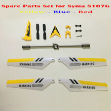 Syma S107G S107 RC Helicopter Main Blades, Tails, Props, Balance Bar, Shaft, Gea