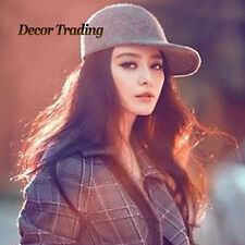 Fashion New Vintage Parent-Child Fedoras Cap Wool Felt Fedora Cloche Hat Autumn1