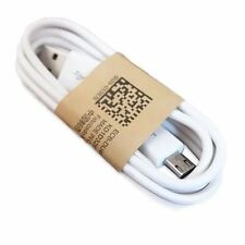 Cable de Carga y Datos 1m USB MicroUSB Movil Smartphone Blanco SONY XPERIA