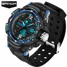 Sanda Sport Watch Men 2017 Clock Male Led Digital Quartz Wrist Watches Men'S Top