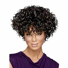 Wigs for Women Long Black Wig Short Afro Wig Curly Wig Women's Synthetic Wigs S