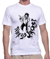 Joker DC Why So Serious Printed T shirt Sports Wear White Round Neck