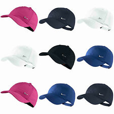 Nike Boys Kids Metal Swoosh Baseball Cap Golf Hat