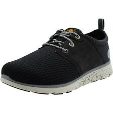 Timberland Killington Oxford Youth Black Textile Trainers