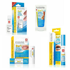 Eveline 8in1 Total Action Series Hand Cream Nail Conditioner Lip Lash Therapy