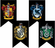 HARRY POTTER Gryffindor Slytherin Ravenclaw Hufflepuff House Home Flag Banner UK