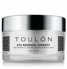 TOULON Eye Cream with Vitamin C, Peptides and Alpha Hydroxy Acid, 15 ml