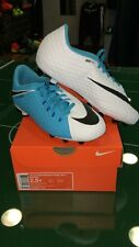NIKE SCARPE SHOES FOOTBALL CALCIO HYPERVENOM PHELON 3 AG PRO JUNIOR 2017 BIANCHE