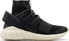 NUOVO adidas Originals Tubular Doom PK Primeknit Sneakers Trainers nero S74921