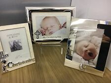 Personalised Childs / Baby Photo Frames for  ,Christening ,engraved free,