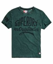 Superdry Tshirt - Superdry Classics Indigo Round Neck Tshirts - Clearance SALE!
