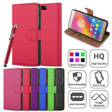 Huawei P10 Plus Case Wallet Flip Leather Book Card Slots Stand View Case Cover