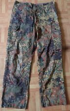 German Army Flecktarn Camouflage Combat Trousers 7075/8085