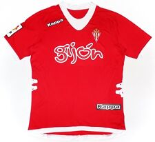 Maglia Calcio Away Football Shirt Sporting Gijon 2012-2013 Kappa LFP Patch