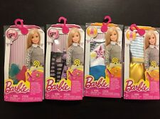 Mattel Barbie Packs Lot Of 4 Clothes Shoes Accessories New Sealed Free Shipping