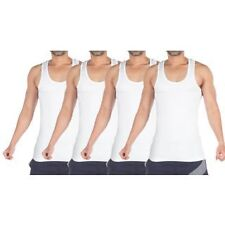 Vip Bonus Premium Men's Vest White Pack of 4 pc