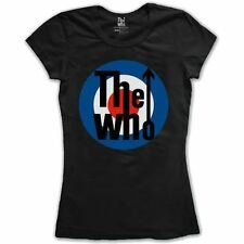 THE WHO 'TARGET LOGO' LADIES T-Shirt - LICENSED OFFICIAL THE WHO MERCHANDISE