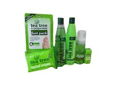 Full Range Of Tea Tree Facial Wipes Shampoo Conditioner Face Wash Oil Foot Pack