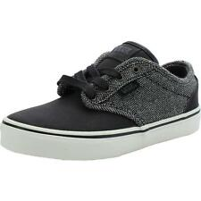 Vans Atwood Deluxe Youth Negro Textil Entrenadores Zapatos