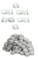 IKEA GLASIG Glass TeaLight Holder Party Candle Holders Wedding Tealight 38mm NEW