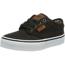 Vans Atwood Waxed Youth Noir Textile Formateurs Chaussures