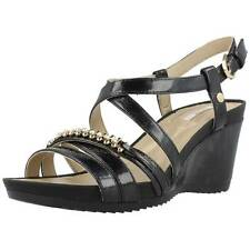 Sandalias Mujer GEOX D NEW RORIE B, Color Negro