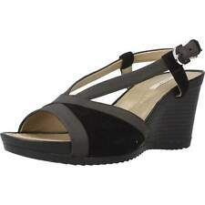Sandalias Mujer GEOX D NEW RORIE, Color Negro
