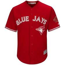 Majestic Toronto Blue Jays Cool Base MLB Maillot Remplaçant Rouge