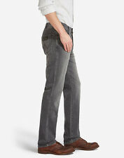 Wrangler Texas Denim Regular Stretch Fit Herren Jeans - Benzin Grau - Original