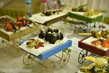 Wooden Cart Hamper tray Baby goodies chocolate Gift decoration serving platters