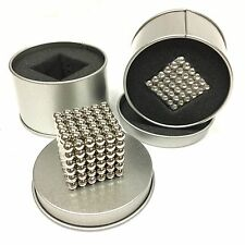 5mm Colorful 216 pcs Neodymium Super Magnetic, like Buckyballs- Stainless Steel